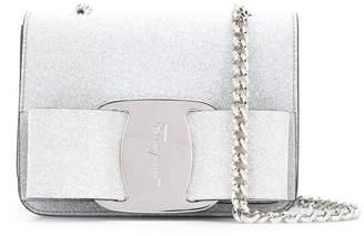 Salvatore Ferragamo micro Bianca crossbody bag