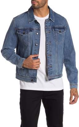 Joe's Jeans Rand Subtly Distressed Denim Jacket
