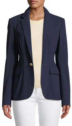Ralph Lauren Parker One-Button Wool Jacket