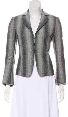 Akris Punto Wool Tapered Jacket