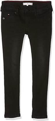 Tommy Hilfiger Girl's Sophie Skinny Sblast Jeans, (Spring Black Stretch 911)