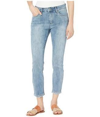 Jones New York Lexington Straight Crop Jeans in Kurt Love Wash