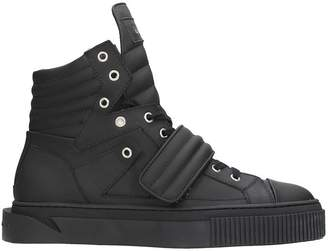Gienchi Hypnos Black Rubber Sneakers