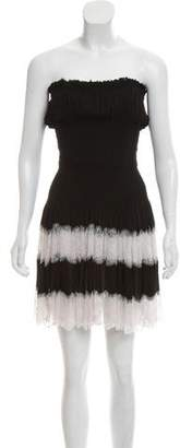 Alaia Strapless Lace