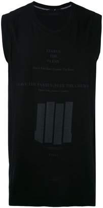 Julius sleeveless T-shirt