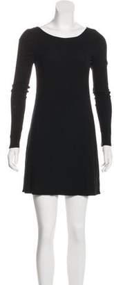 Reformation Mini Long Sleeve Dress