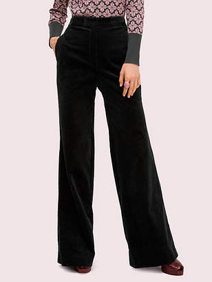 Kate Spade Modern Cord Flare Pant, Deep Spruce - Size 0