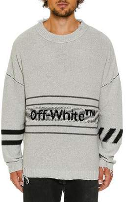 Off-White Men's Cotton Sweater