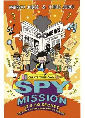 Scholastic Create Your Own Spy Mission