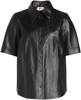 N°21 N21 Leather Shirt