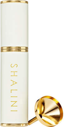Shalini Parfum White Lacquer and Gold Plated Travel Spray, 0.4 oz./ 12.5 mL