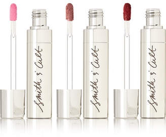 Smith & Cult The Tainted Flatte Lip Stain Trio - Neutral