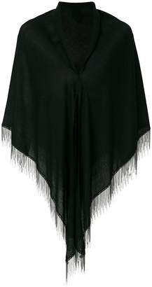 Saint Laurent chain fringed scarf