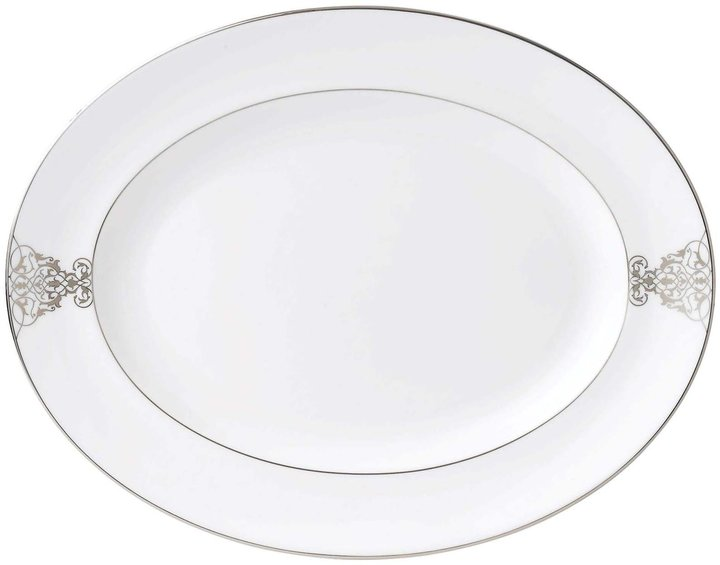 WedgwoodWedgwood Vera Wang Imperial Scroll Oval Platter