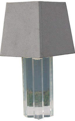One Kings Lane Vintage Midcentury Lucite Lamp