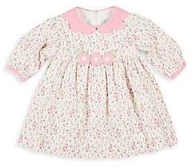 Florence Eiseman Baby Girl's Pixie Pink Floral Dress