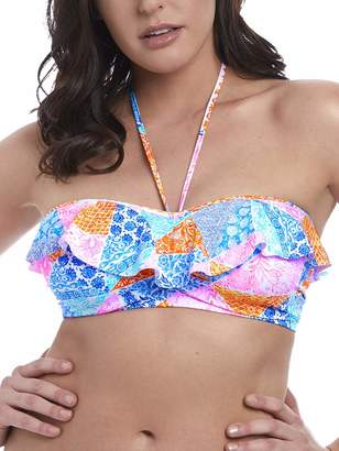Freya Womens Festival Girl Underwire Padded Bandeau with Frill