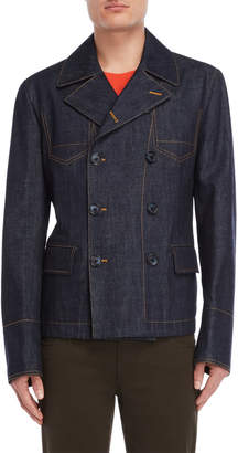 Dolce & Gabbana Double-Breasted Denim Jacket