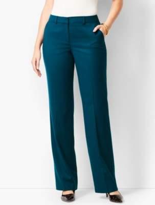Talbots Luxe Italian Flannel Windsor Pants - Curvy Fit