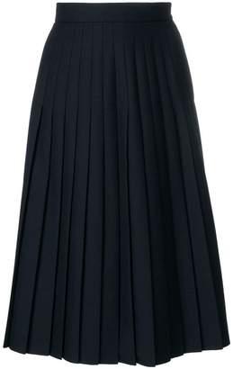 Thom Browne Below-knee Uniform Twill Skirt
