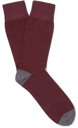 Corgi Kingsman + Cotton-Blend Socks