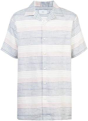 Onia Vacation striped shirt