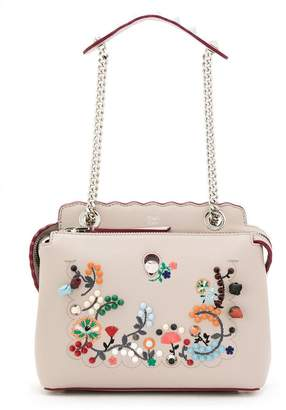 Fendi embroidered Dotcom shoulder bag