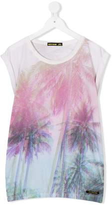 Finger In The Nose TEEN palm tree print T-shirt