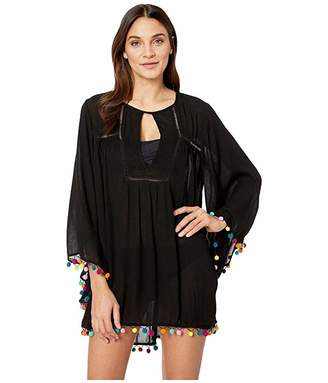 Nanette Lepore Jazzy Covers Open Back Tunic Cover-Up