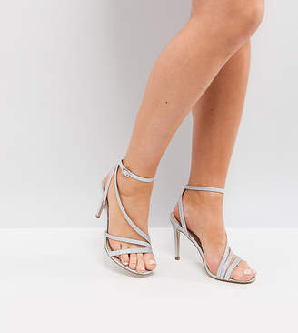 Asos DESIGN HOMECOMING Wide Fit Heeled Sandals