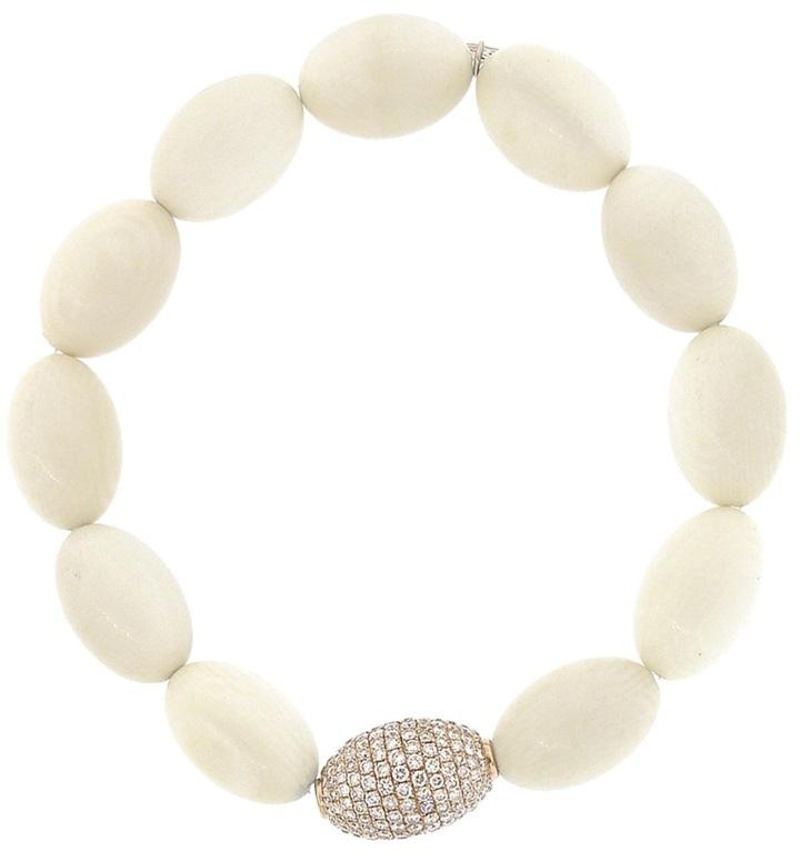 Sydney Evan pave diamond bracelet