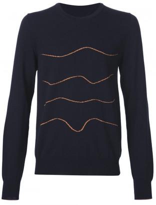 Maison Margiela intarsia knit jumper $830 thestylecure.com