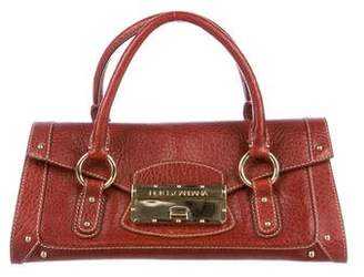 Dolce & Gabbana Grained Leather Handle Bag