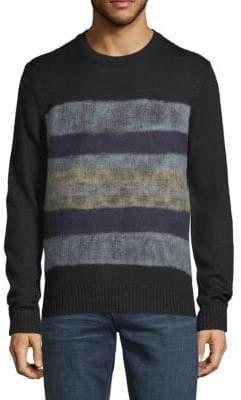 Saks Fifth Avenue Needle Punch Crewneck Sweater