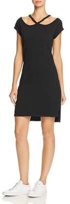 Pam & Gela Cold-Shoulder Tee Dress