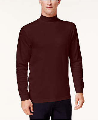 Club Room Men's Solid Mock-Neck