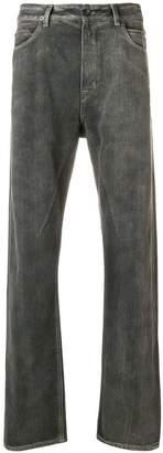 Rick Owens straight leg jeans