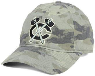 adidas Chicago Blackhawks Camo Slouch Cap