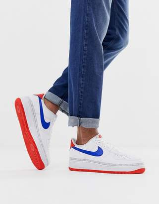 quality design c8aa8 4331a Nike Force 1 trainers in white CD7339-100