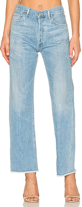 Citizens of Humanity Parker Relaxed Cuff Crop $268 thestylecure.com