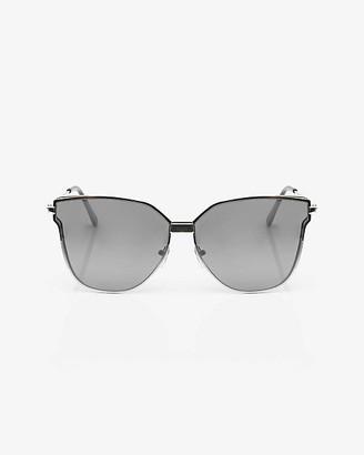 Le Château Mirrored Cat Eye Sunglasses