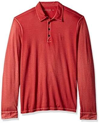 John Varvatos Men's Long Sleeved Polo AQP4B 621