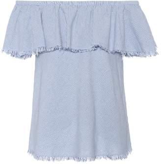 Velvet Paloma off-the-shoulder cotton top