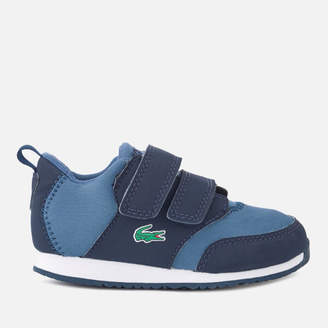 641b9884b881 Lacoste Toddler s Light 318 1 Textile Runner Style Trainers
