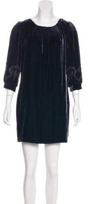 Sophie Theallet Velvet Mini Dress