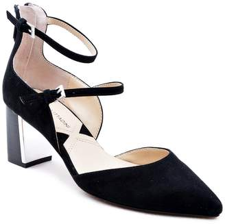Adrienne Vittadini Noble Suede d'Orsay Pump