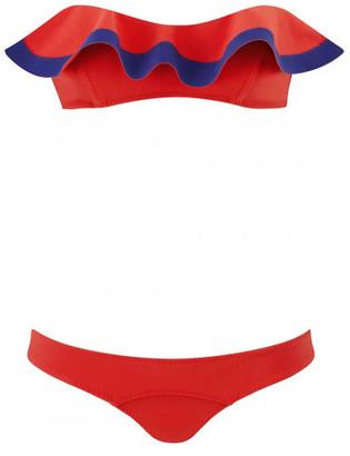 Lisa Marie Fernandez 'Natalie' flounce bikini $445 thestylecure.com