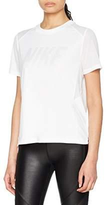Nike Dry Miler Running, Women's T-Shirt - - Size: M