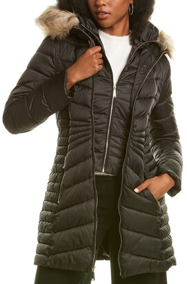 Laundry by Shelli Segal Wool-Blend Cape Coat