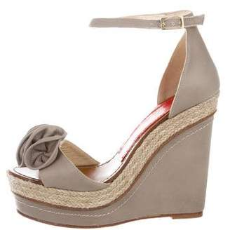 Paloma Barceló Platform Wedge Sandals
